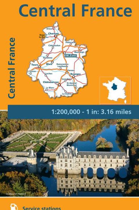 Central France Map