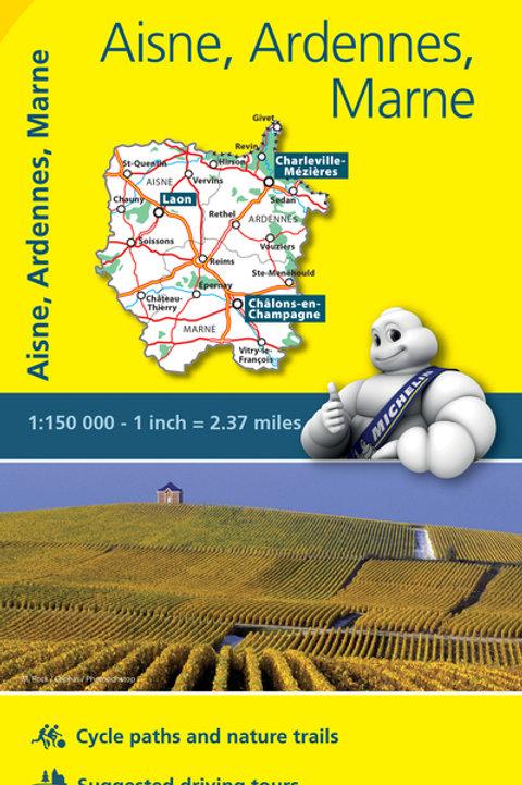 Aisne Ardennes Marne Map
