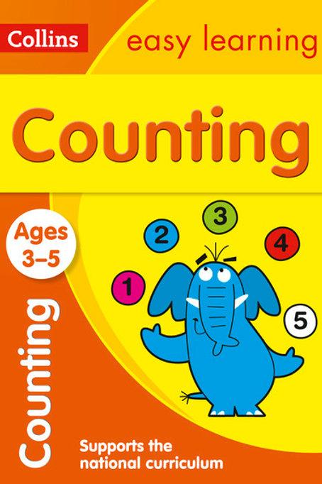 Collin Easy Learn Preschool Counting 3 5