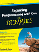 Beginning Programming With C++ For Dummi