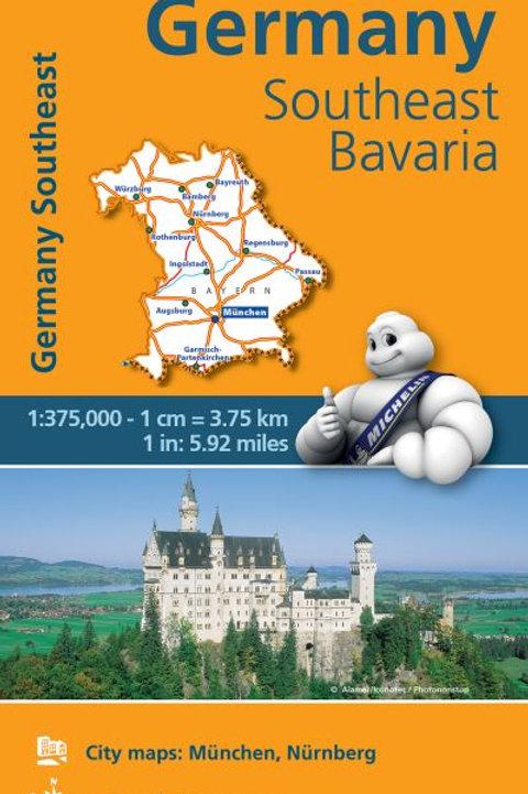 Germany Southeast Bavaria REGNL Map 546