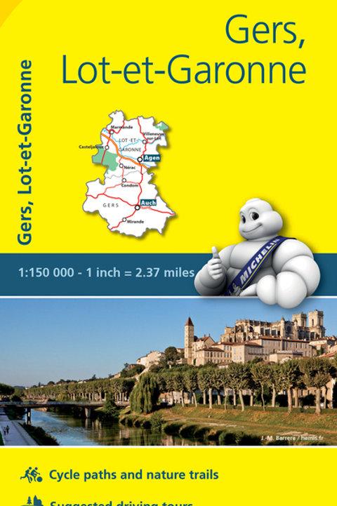Gers Lot Et Garonne Map