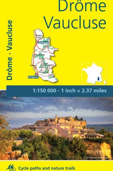 Drôme Vaucluse Map