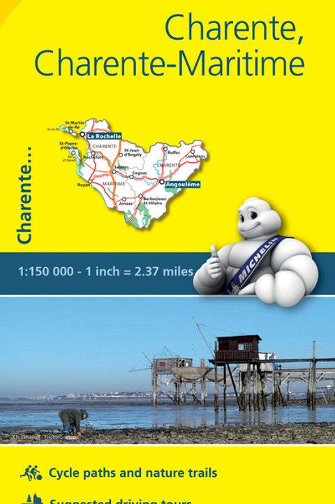 Charente Charente Maritime Map