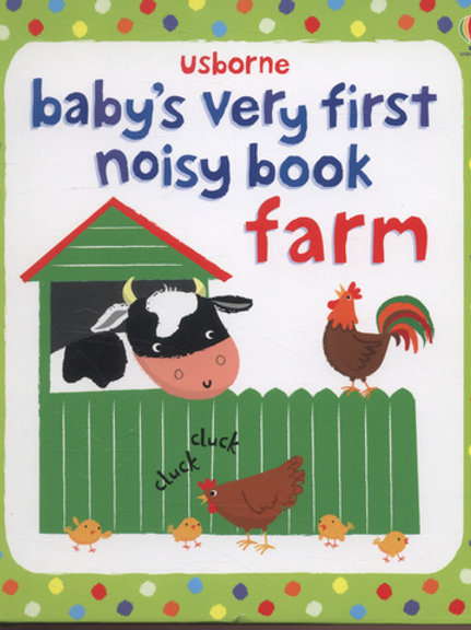 Babys Very First Noisy Book Farm
