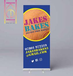 Jakes Bakes Roller Banner
