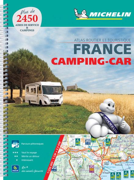 France Atlas Camping Car A4 2018 SPIRAL