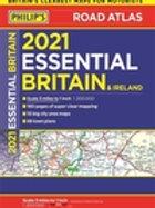 2021 Philip's Essential Road Atlas Britain and Ireland