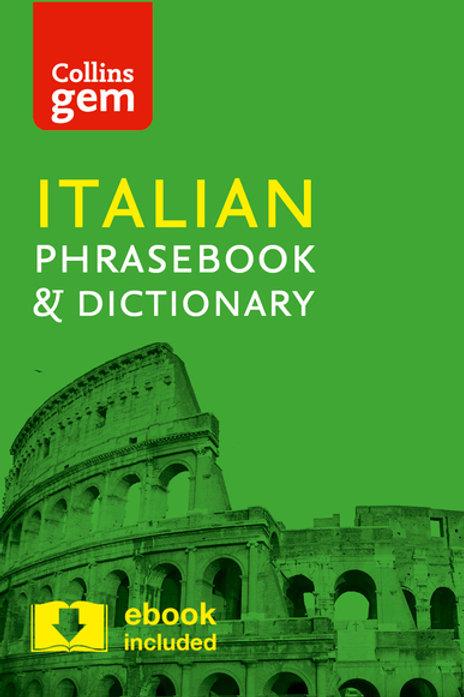 Collins Italian Phrasebook & Dictionary