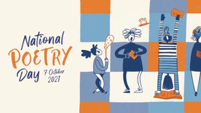 Thursday 7th Oct - National Poetry Day