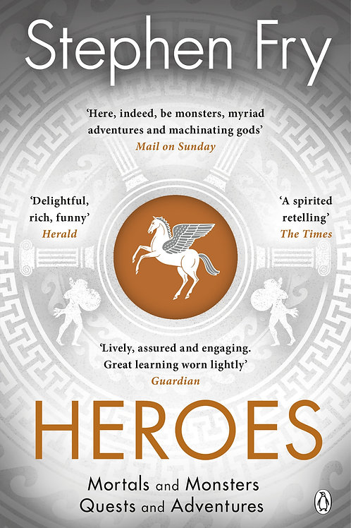 The myths of the Ancient Greek heroes retold