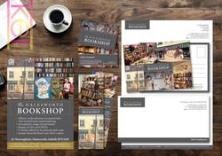 The Halesworth book Shop Marketing Materials