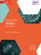 AQA GCSE Maths Higher Student Book 4th