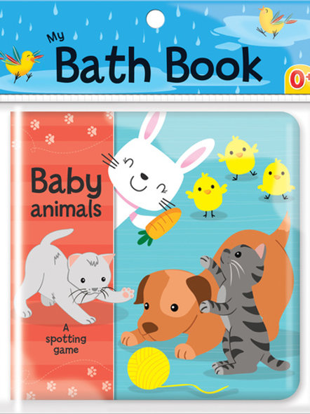 Baby Animals: A Spotting Game: (My Bath Book)