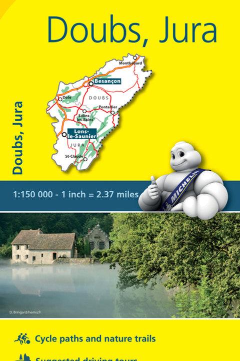 Doubs Jura Map