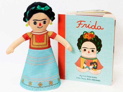 Frida Kahlo Doll and Book Set: For the Littlest Dreamers