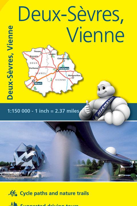 Deux Sèvres Vienne Map