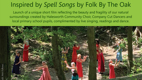 Sat 9th October at The Cut Arts Centre - Spell Songs on the Green