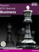 BTEC Nationals Business Student Book 1 A