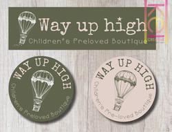 Way Up High Branding