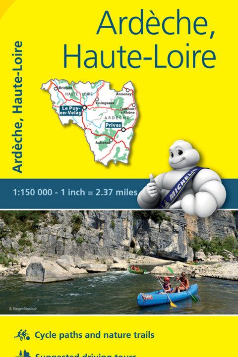 Ardèche Haute Loire Map