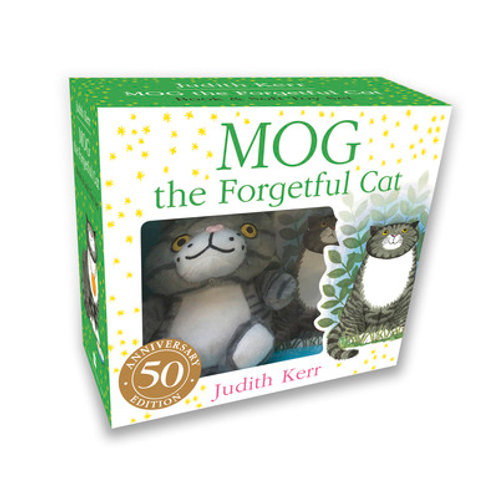 Mog Forgetful Cat Bk & Toy Gift Set