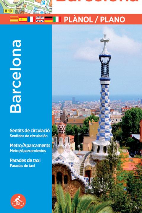 Barcelona City Plan & Index