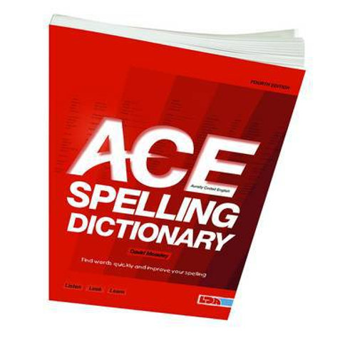 Ace Spelling Dictionary 4th Edition