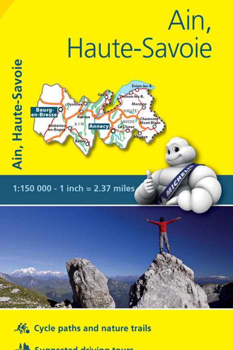 Ain Haute Savoie Map