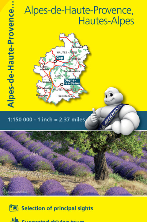 Alpes De Haute Provence Hautes Alpes Map