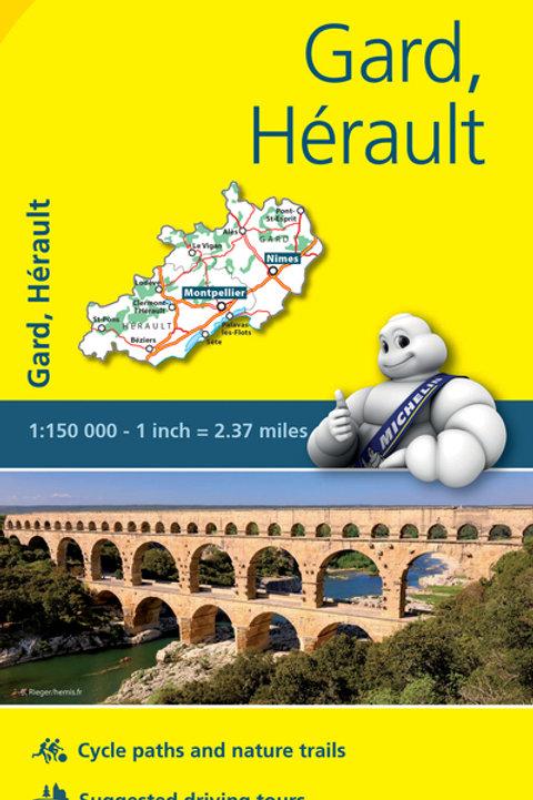 Gard Hérault Map