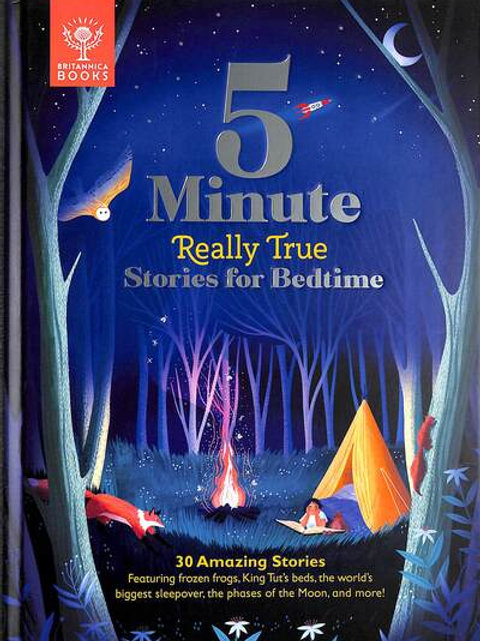 5-Minute Really True Stories for Bedtime: 30 Amazing Stories