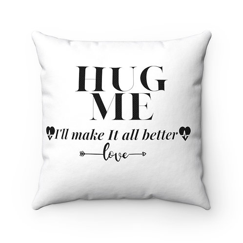 Hug me Square Pillow