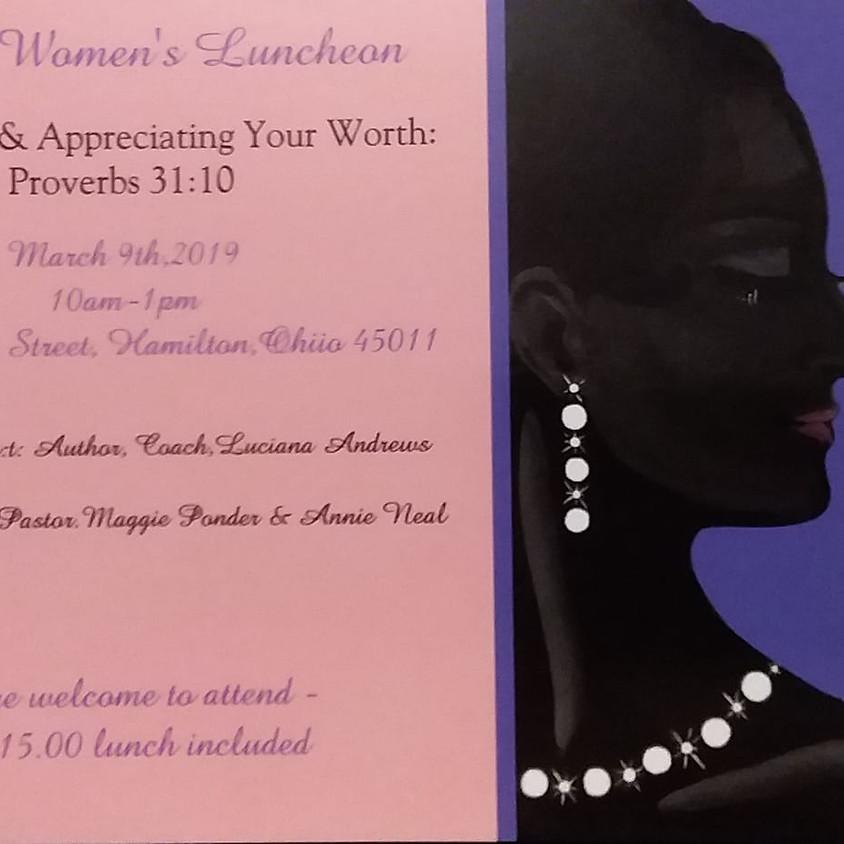 Pearls Women's Luncheon