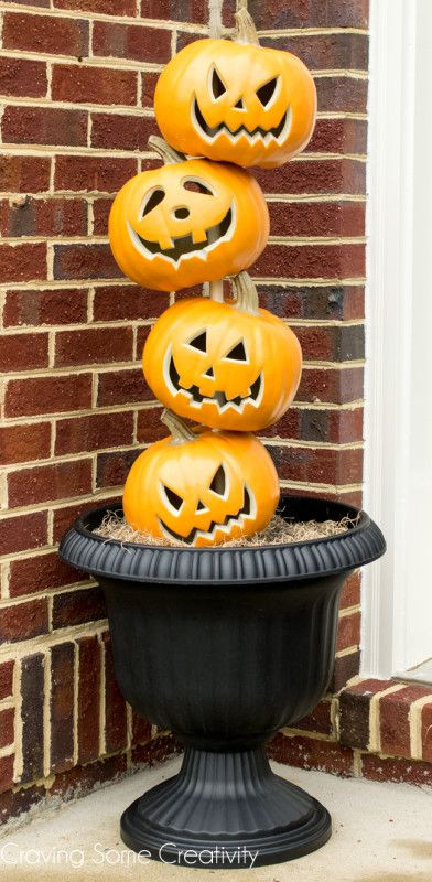 Stylishly Scary Halloween Looks for Your Front Door