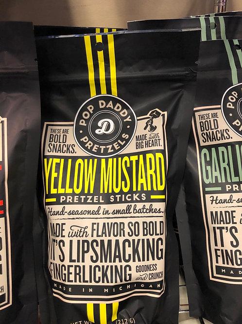 Yellow Mustard Pretzels