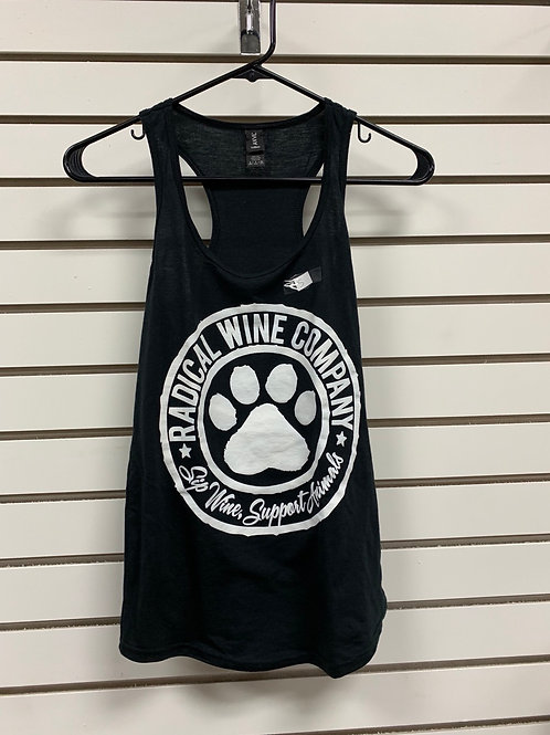 Ladies Racerback Tank- Black