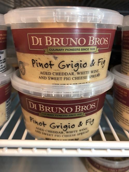 Pinot Grigio & Fig Cheese Spread