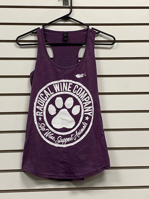 Ladies Racerback Tank-Purple