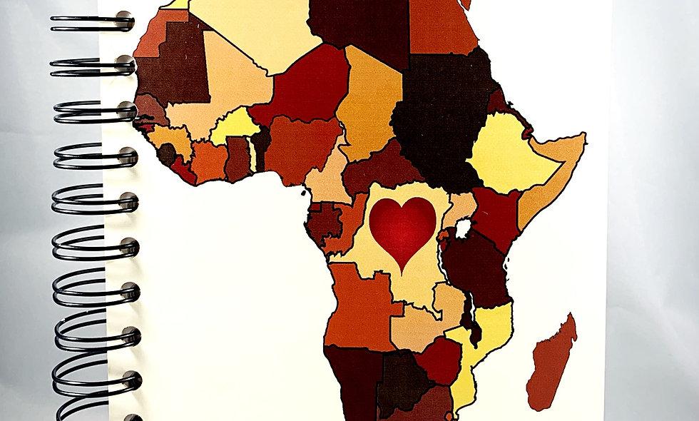 Africa W/Heart