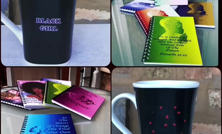 Handcrafted Hardcover Journal and Transformation Mug Set