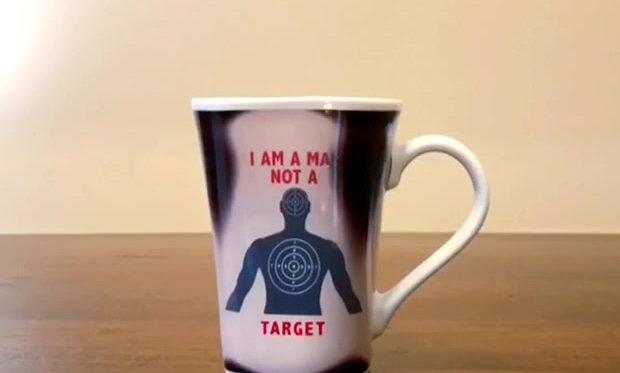 Man Not Target Transformation Mug