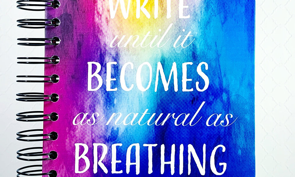 Write Until It Becomes As Natural As Breathing