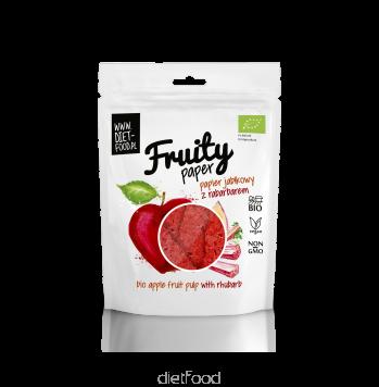 Fruity paper pomme rhurbarbe