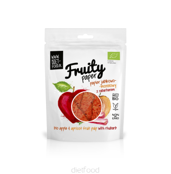 Fruity paper pomme abricot rhubarbe