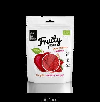 Fruity paper pomme framboise