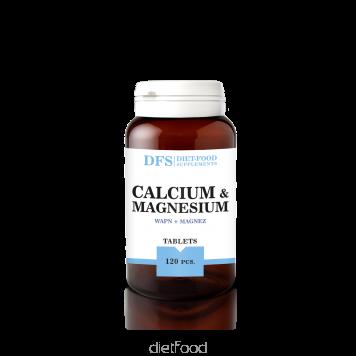 diet-food Calcium+Magnésium 120 gellules