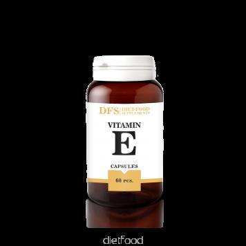 DIET-FOOD  Vitamines E 60 gellules