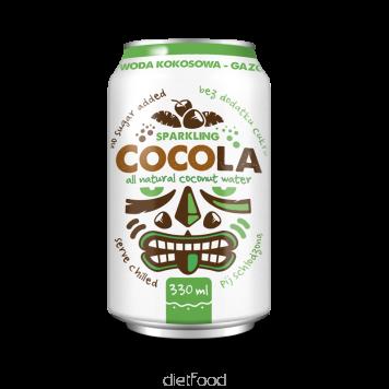 Eau de coco pétillante | diet-food.fr