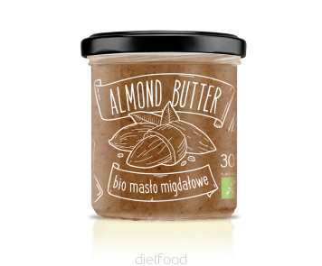 Beurre d'amandes certifié bio | diet-food.fr